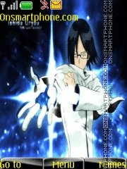 Uryu Ishida Bleach tema screenshot