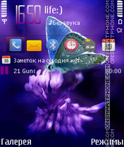 Butterfly By Afonya777 theme screenshot