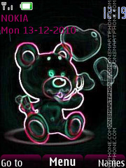 Скриншот темы Bear