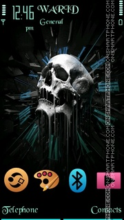 Skull5th by Shawan theme screenshot