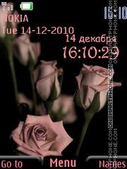 Pink Bouquet theme screenshot