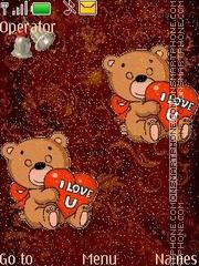 Bears animated theme screenshot