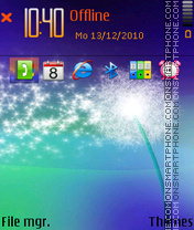 Dandelion by afonya777 01 theme screenshot