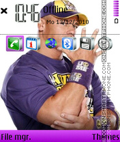 Скриншот темы John Cena 13