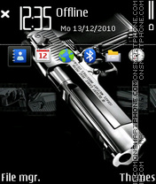 Pistol 02 theme screenshot