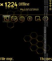 Gold prism es el tema de pantalla