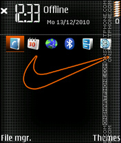 Nike 22 theme screenshot