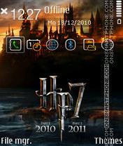 Harrypotter 7 es el tema de pantalla