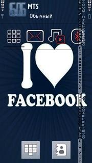 Facebook 02 es el tema de pantalla