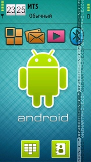 Android 10 tema screenshot