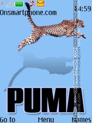 Puma blue 11 theme screenshot