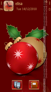 Xmas Decor v5 theme screenshot