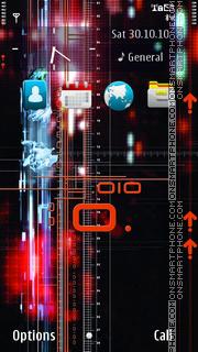 Скриншот темы Abstract Technology 02