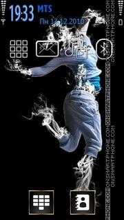 Smoke Dance es el tema de pantalla