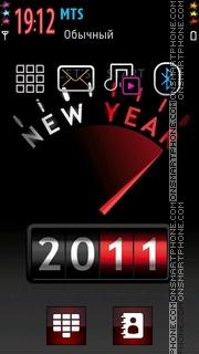 New Year 2011 02 theme screenshot
