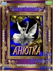 Anechka es el tema de pantalla