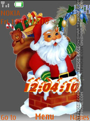 Santa(AR) tema screenshot