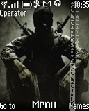 Black Ops es el tema de pantalla
