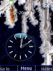 Clock Theme-Screenshot
