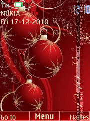 New year theme screenshot