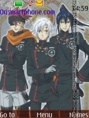 D.Gray Man tema screenshot