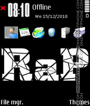 Rap 03 theme screenshot