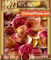Roses 01 es el tema de pantalla