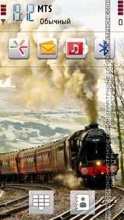 Nice Train theme screenshot