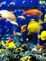 Aquarium es el tema de pantalla