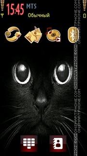 Скриншот темы Black Cat 08