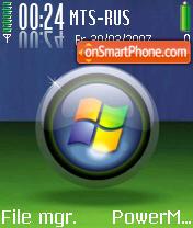Glass Orb theme screenshot