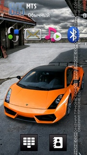 Lamborghini 37 theme screenshot