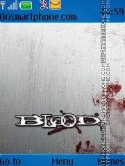Blood+ Blood es el tema de pantalla