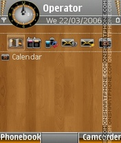 Wood mozaic satio theme screenshot