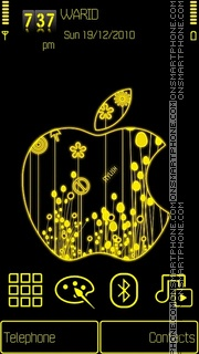 Apple5th by Shawan es el tema de pantalla
