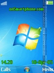 Windows 7 New 01 es el tema de pantalla
