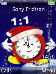 Christmas Clock es el tema de pantalla