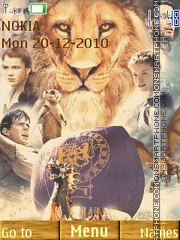 The Chronicles of Narnia: The Voyage of the Dawn theme screenshot