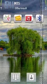 Beautiful Tree theme screenshot