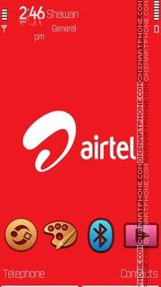 Airtel 5th by Shawan es el tema de pantalla