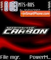 NFS Carbon 02 es el tema de pantalla