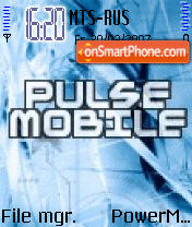 Pulse Mobile Animated theme screenshot