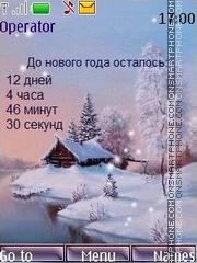 Winter swf theme screenshot