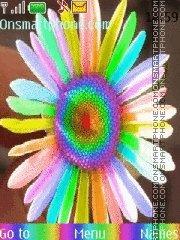 Rainbow colors tema screenshot