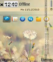 Dandelion-v3 es el tema de pantalla