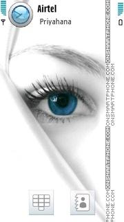 Blue Eye 02 es el tema de pantalla