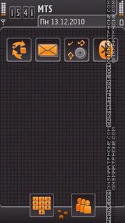 Beautiful Grey theme tema screenshot