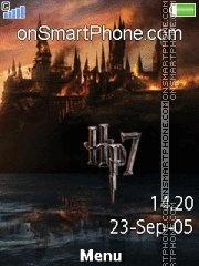Capture d'écran Harry Potter 7 02 thème