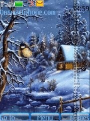 Winter View 02 theme screenshot