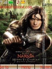 Narnia theme screenshot